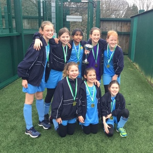 Under 11 Greenfield Girls Football Champions!!!